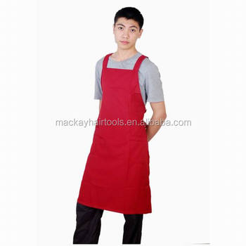 Wholesale Stylist Cotton Aprons Hot Sale