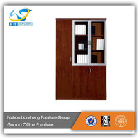 wooden office storage wall cabinet with door cabinet office