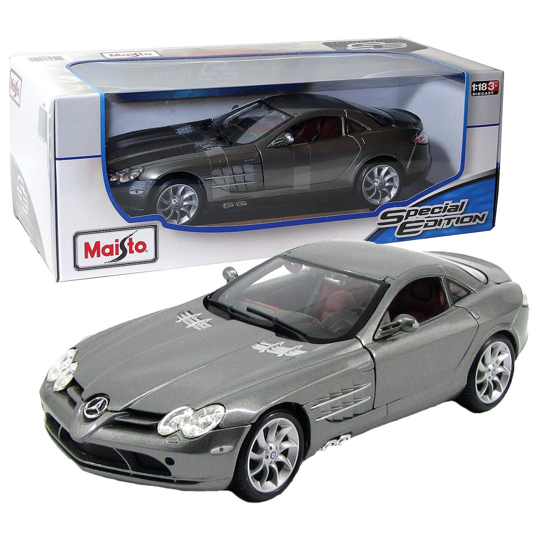Buy Mercedes Benz Slr Mclaren Maisto Special Edition Diecast 1 18