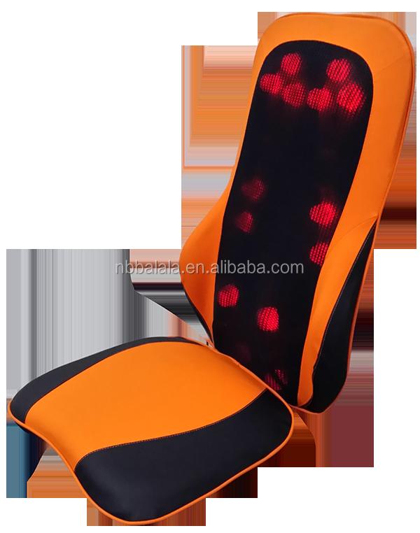 Ma2519 shiatsu massage kussen met infrarood verwarming for Shiatsu massage kussen