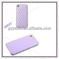 Fashion Latest Sheep Leather Skin Case for iPhone 5,dust water shock proof cover for iphone 5 case