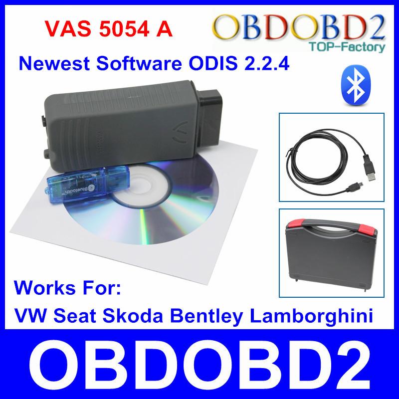 Высокое качество VAS 5054A одис V2.2.4 Bluetooth версии VAS 5054 А диагностический инструмент для VW Bentley VAS5054A сканер
