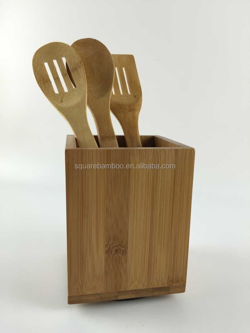 Wooden kitchen utensil holder - Wooden Cutlery Holder Wooden Cutlery Holder Suppliers And Manufacturers At Alibaba Com