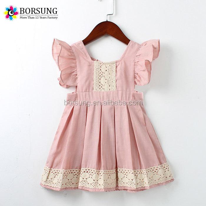 a85bb9a764f14 d anniversaire   Partie Usure 2018 Dernière conception de robe vêtements  belle dentelle à volants bébé fille ...