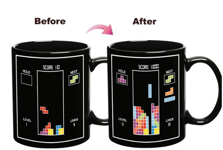 Ceramic Magic Custom Photo Color Changing Thermal Mug for Sublimation