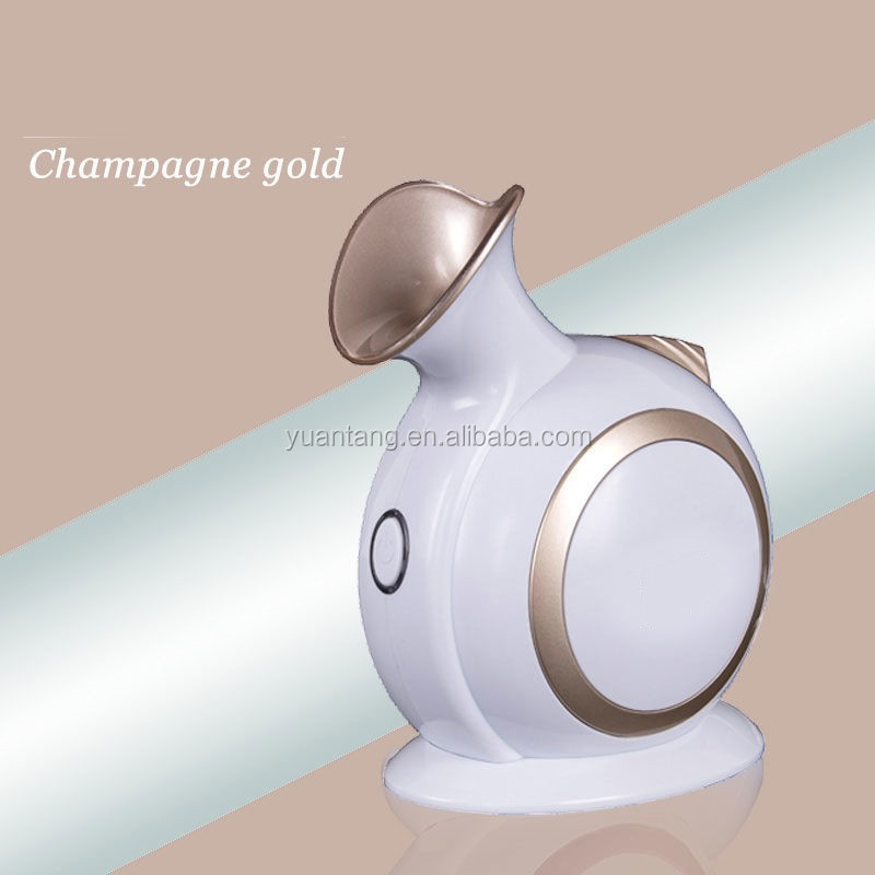 Nano ionic Facial Steamer, Home Facial Sauna with Touch Button, Deep Cleansing and Keep Moisture for Daily Skin Care