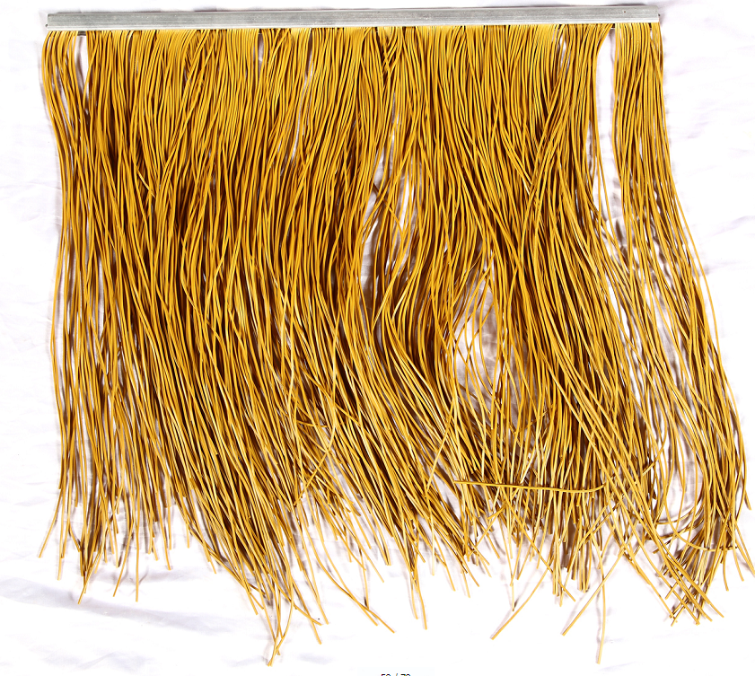 Waterproof synthetic thatch roof artificiatile for vilas