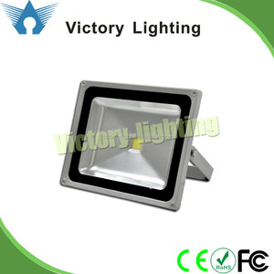 Hot selling outdoor lighting fixture 50w cob led flood light with PIR sensor