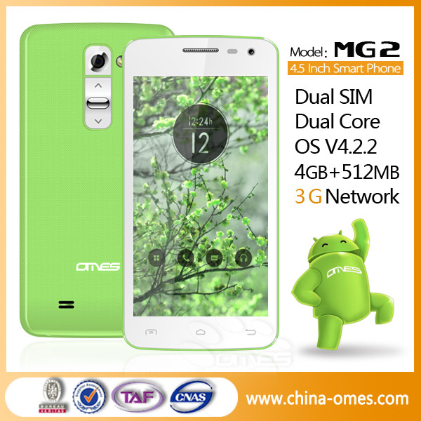 MG2 Android 4.2 SmartPhone 4.5inch Touch Screen CellPhone