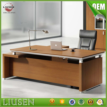 Big Discount Melamine Office Furniture Luxury Manager Executive Wooden Office  Desk