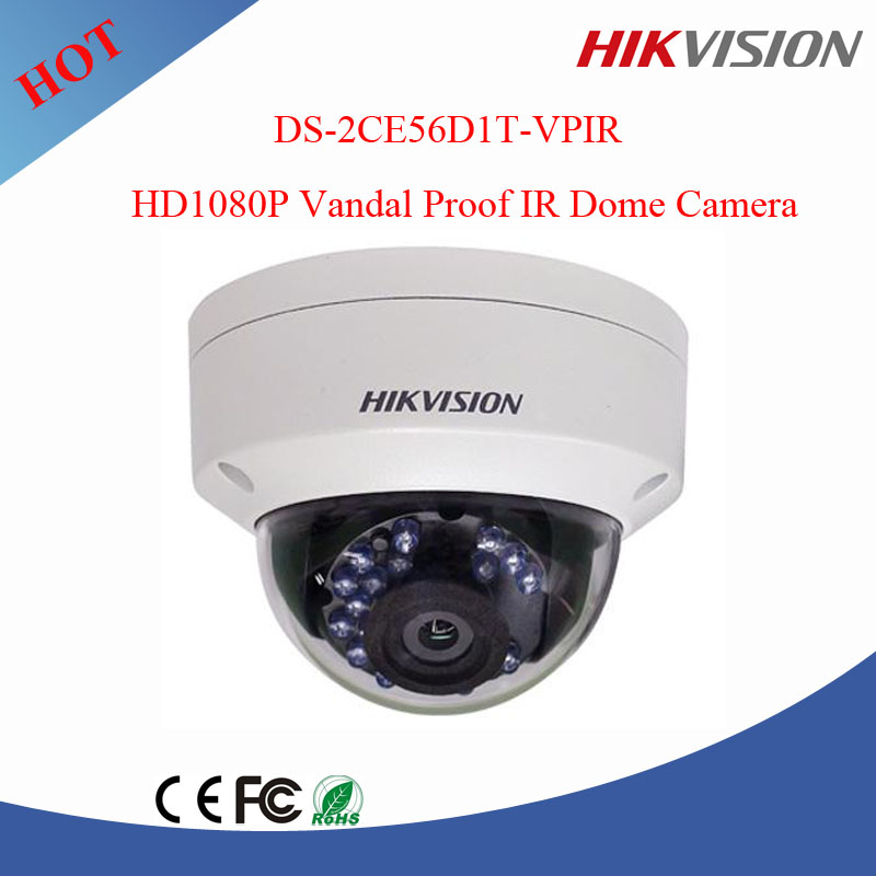 Hikvision full hd 1080P Vandal Proof IR Dome Camera security cctv camera