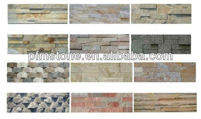 Self Adhesive Mica Imitation Lobby Decorative Stone Wall Tiles