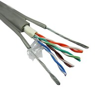 23 AWG 4P indoor/outdoor cat6 cat6e utp ftp lan cable for network