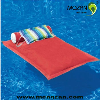 Floating pool bed outdoor beanbag lounge water beds buy for Outdoor pool bed