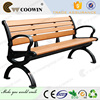 Long lifetime waterproof outdoor garden bench
