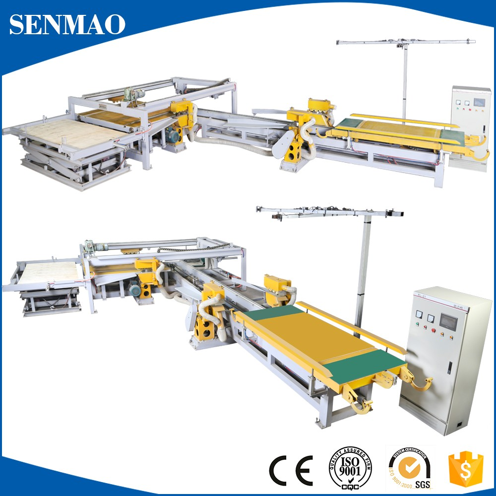 veneer osb particle board production line/Particle board cutting saw/ edge trimming machine