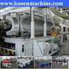 The best selling pe pp pvc double wall corrugated pipe machine