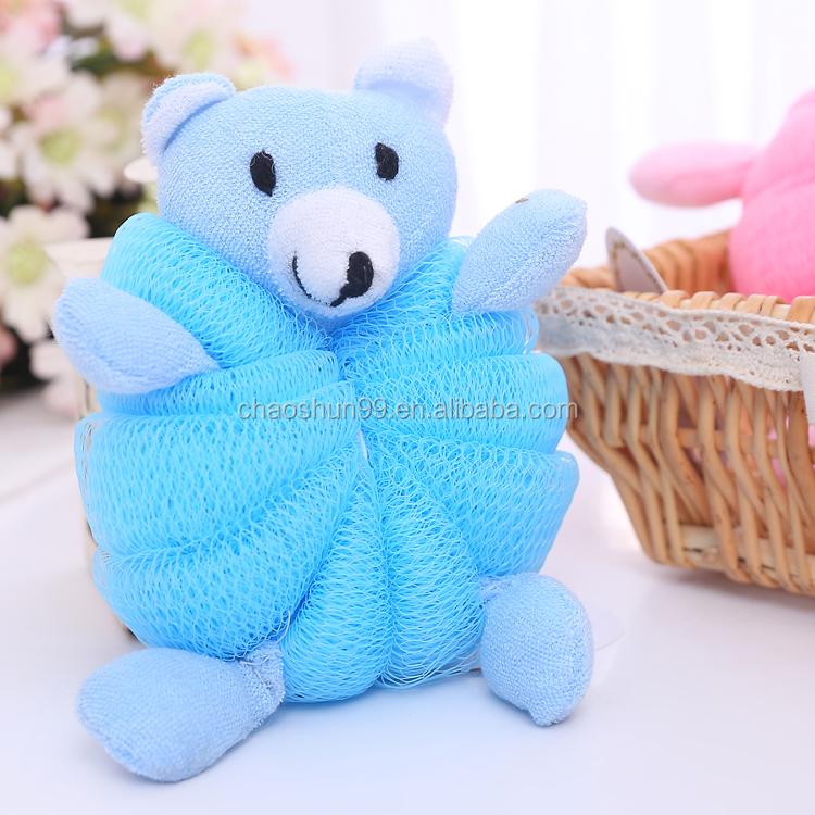 Wholesale Cute Net Baby Bath Sponge(bear/duck/rabbit) - Buy Cute Net ...