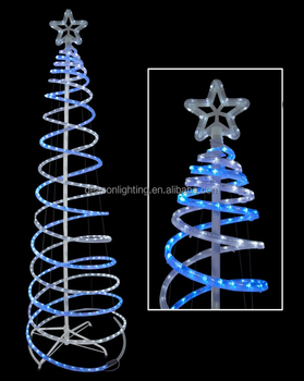 Double spiral led christmas tree buy outdoor led christmas tree double spiral led christmas tree aloadofball Images