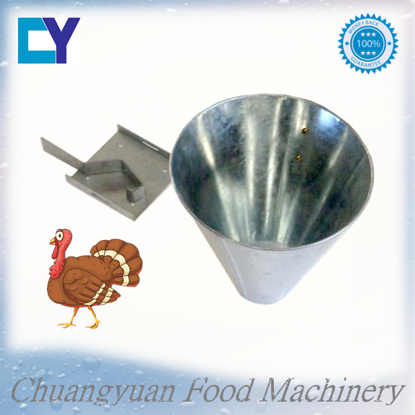 2016 High quality and low price poultry slaughtering tools/chicken killing cone/turkey killing cone