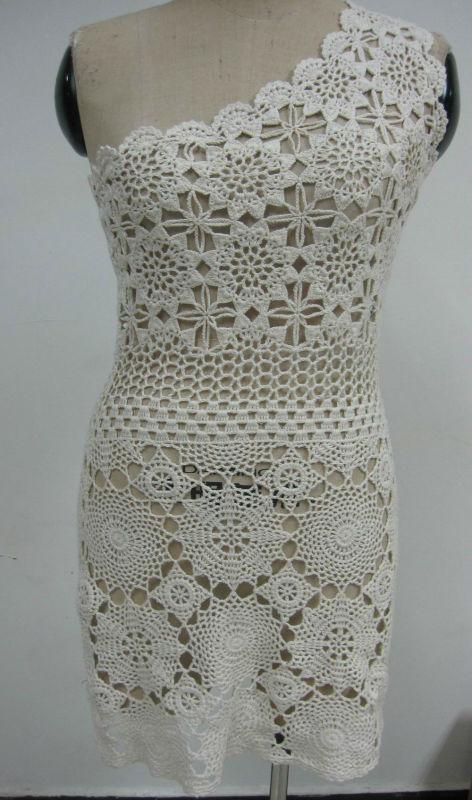 Vestidos en crochet para mujer
