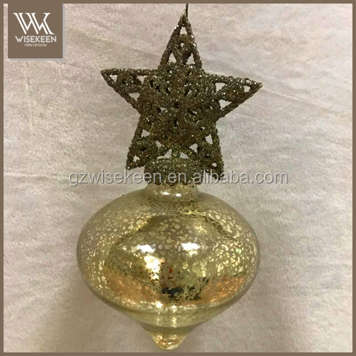 Newly designed wholesale glass christmas ball christmas ornaments