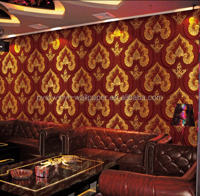 Washable Vinyl Coated Wallpaper Wall Paper Modern Style Wallpaper For Home Restaurant Decoration Buy Vinyl Wallpaper Modern Pvc Wallpaper Modern