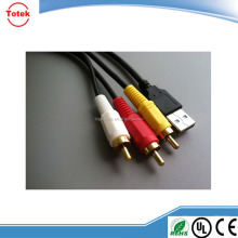 High quality 30-pin to USB RCA audio video cable