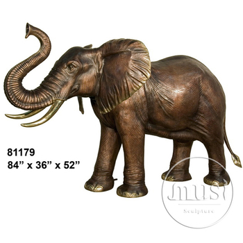 Home Decor Metal Bronze Copper Elephant Statue Buy Copper Elephant