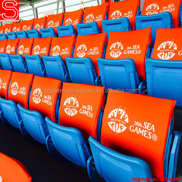 Customized Logo Fan Stadium Seat Covers For Match
