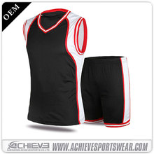 Best philippines custom basketball uniform design color black