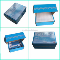 2016 beautiful design paper box with foam insert packaging for France machine using