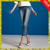 Modern fashion slim female denim jean/beauty woman high waist jean pants, clothing factories in china