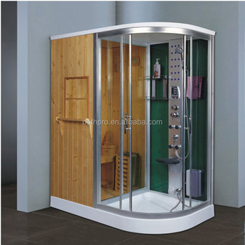 Computer Control Panel Large Size Steam Shower Room With Hydro ...