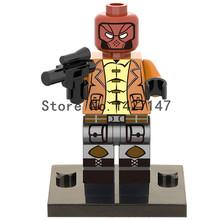 2016 new Single sale XH220 DC Marvel Super Heroes RED HOOD Minifigures Building Block self locking