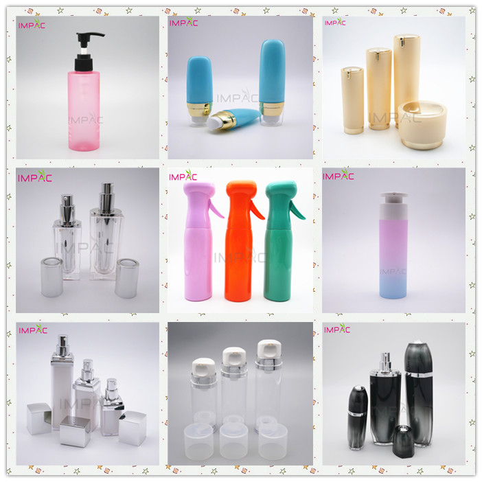 Facial Care Lotion Advanced Design Round Cosmetic Set Packaging