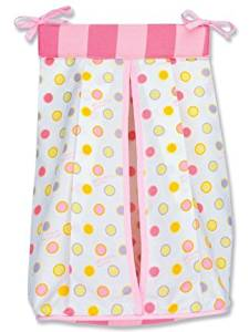 Trend Lab Infant Nursery Newborn Baby Nappy Storage Dr. Seuss Pink Oh The Places You'Ll Go Diaper Stacker