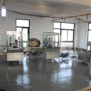 Dust Mop Treatment aerosol gas can filling machine production line