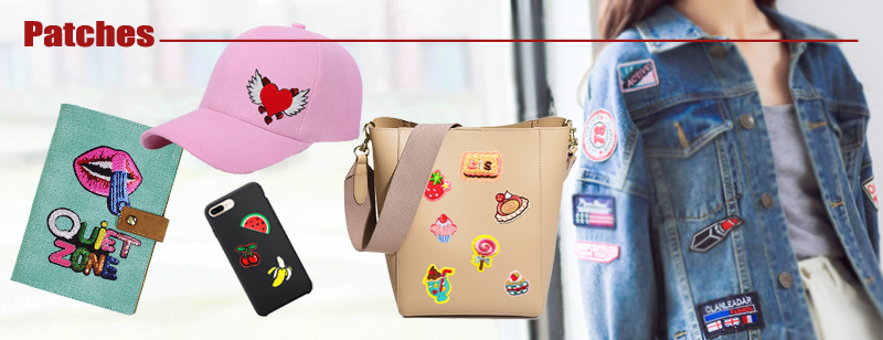 Custom Fashion Payet Patch Reversibel Jantung Patch Bintang Patch