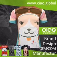 2016 China Wholesale Blank dry fit material t shirt printing Custom t shirt Fitness clothing cheap mens t shirt