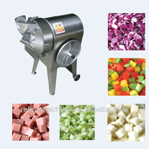 hot sale stainless steel apple slicing machine vegetable dicing machine from Colead