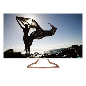 Metal frame 32 inch big screen led monitor for PC TV Advertising