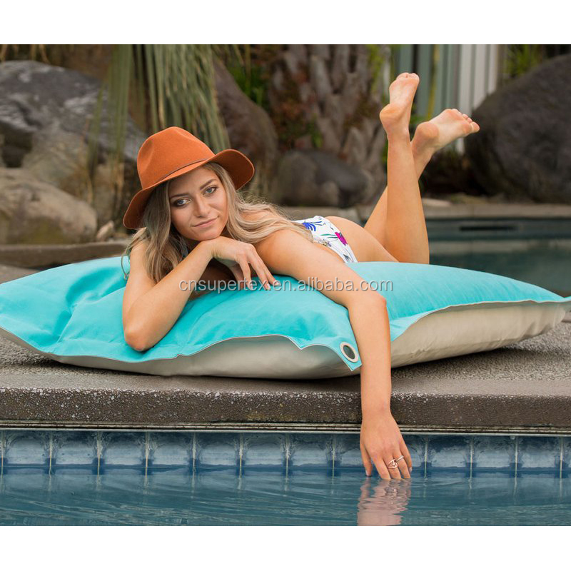 Extra Wide And Comfort Outdoor Float Bean Bag,Pool Side Adults Beanbags,Relax White Reading Beach Chair