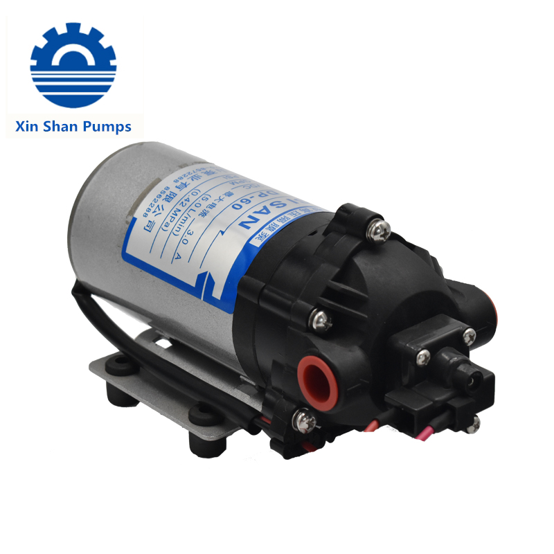Micro Sisan 24v Filter High Pressure 12v24v Electrical Diesel Fuel 200 Psi Water Ptfe Diaphragm Pump