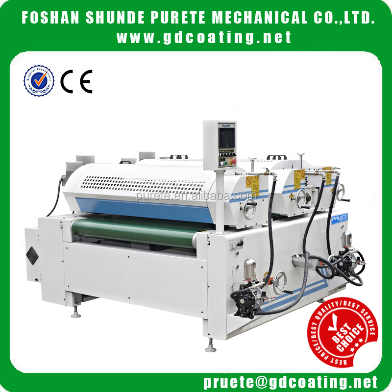 Precise woodworking machine UV paint Varnish Roller Coater machine in China
