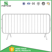 Supplier aluminum concert crowd control traffic road safety barrier for sale