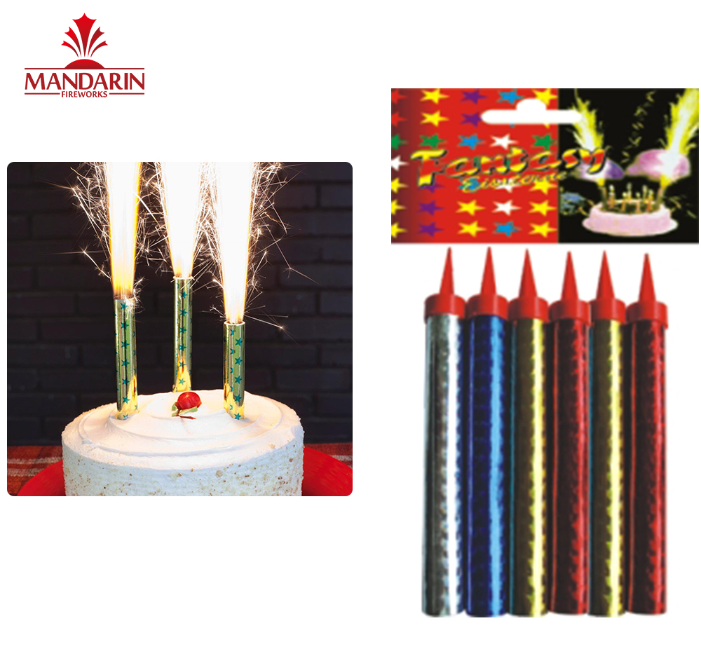 Birthday party indoor smokeless stage fountain sparkler candles fireworks