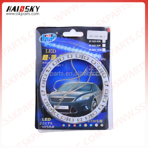 HAISSKY Motorcycle Parts New Design LED Work Light Round motorcycle led driving lights