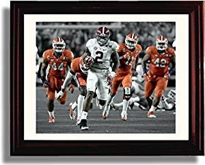 "Framed Alabama Crimson Tide Derrick Henry ""Running Away with the Heisman"" Print"