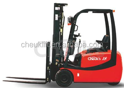 AC 1.5 to 1.8T three wheel electric forklift CPDS15/18